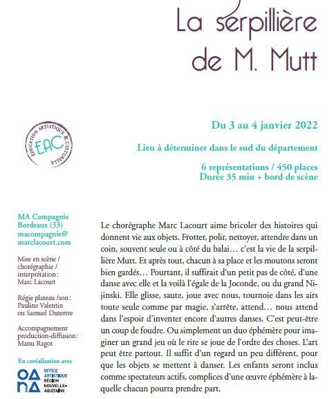 LA SERPILLERE DE MUTT