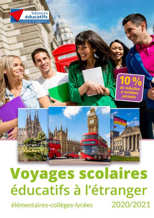 Voyages scolaires éducatifs à l'étranger