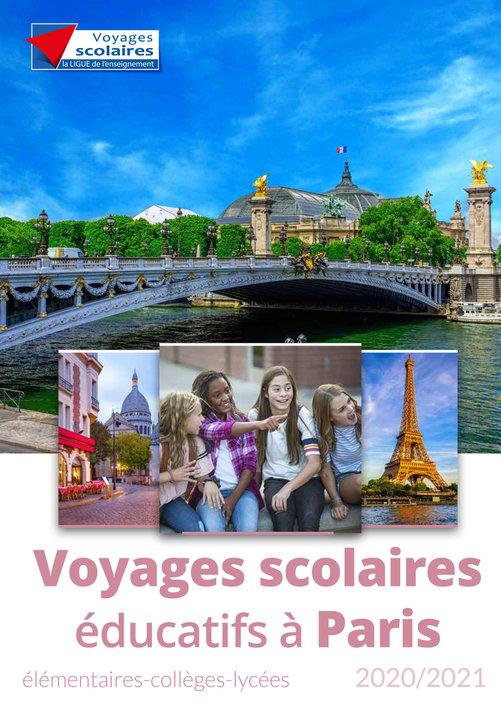 Voyages scolaires éducatifs Paris