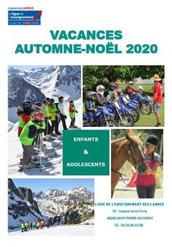 Catalogue Automne-noël 2020